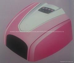 UV Lamp 36W 220-240V Gel Curing Nail Art (EU Plug) with 4pcs UV Bulb DIY Tools