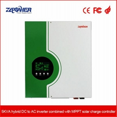 Solar Inverter with MPPT solar charge controller  3KVA 24VDC
