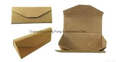 Triangle Folding Eyeglasses Case ; Recycle Paper Eyeglasses Case