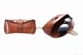 Genuine Leather Sunglasses Bag