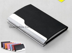 PU Name Card Case ;  Aluminum Name Card Case