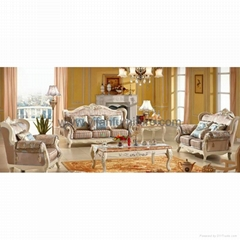 Leather Sofa for Living Room Furniture (992D)