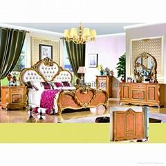 Bedroom Furniture Bed (W807)