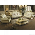 Leather Sofa With Wood Sofa Frame D521 Yf D521 Star