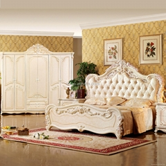 Classic Bed for Bedroom Furniture (W809)