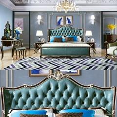 Bedroom Furniture Wood Bed (8806)