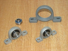 Silver series ball bearing with housing