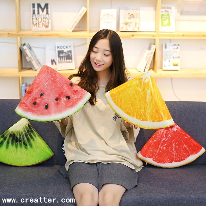 毛绒玩具仿真水果抱枕 3