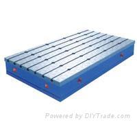 落地鏜銑床工作平台