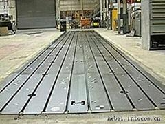 T 型槽工作平台