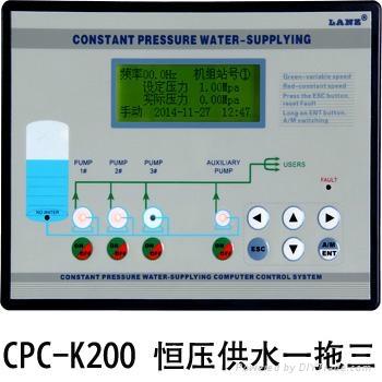 CPW400變頻恆壓供水控制器觸摸屏 一體式 3