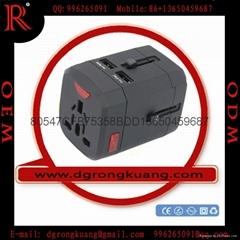 EEC-163F World Travel USB Adapter