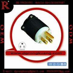 NEMA 5-15P Industrial plug