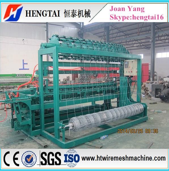 Full Automatic Grassland Fence Wire Mesh Machine 2
