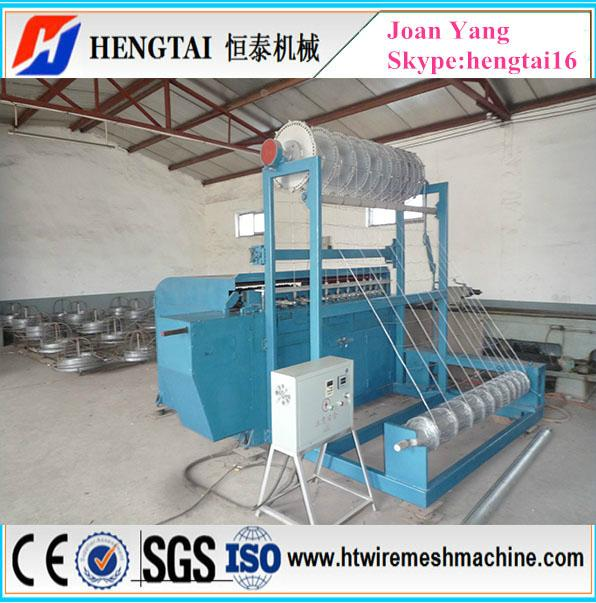 Full Automatic Grassland Fence Wire Mesh Machine 4