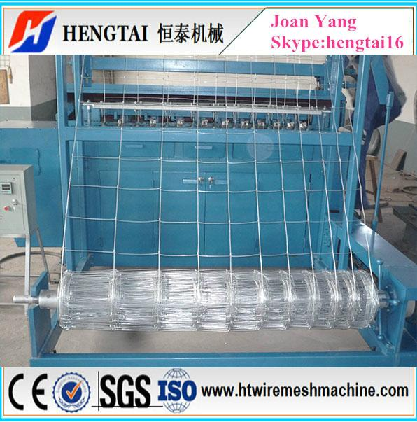 Full Automatic Grassland Fence Wire Mesh Machine 1