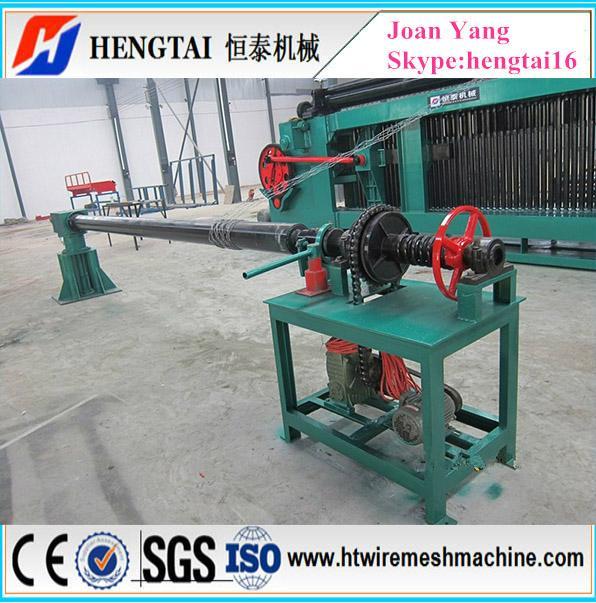 Gabion Hexagonal Mesh Stone Cage Wire Net Machine 1