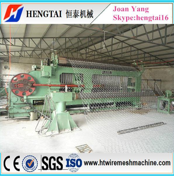 Gabion Hexagonal Mesh Stone Cage Wire Net Machine 4