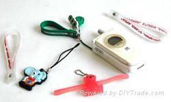 供应PVC手机吊饰 5