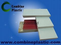 pvc sign materials and building