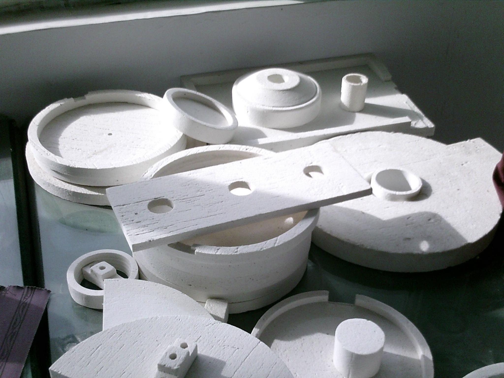 耐火陶瓷纤维异型件  陶瓷纤维异形件 2
