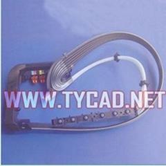 HP 绘图仪 T1100 供墨管道 Q6683-60195