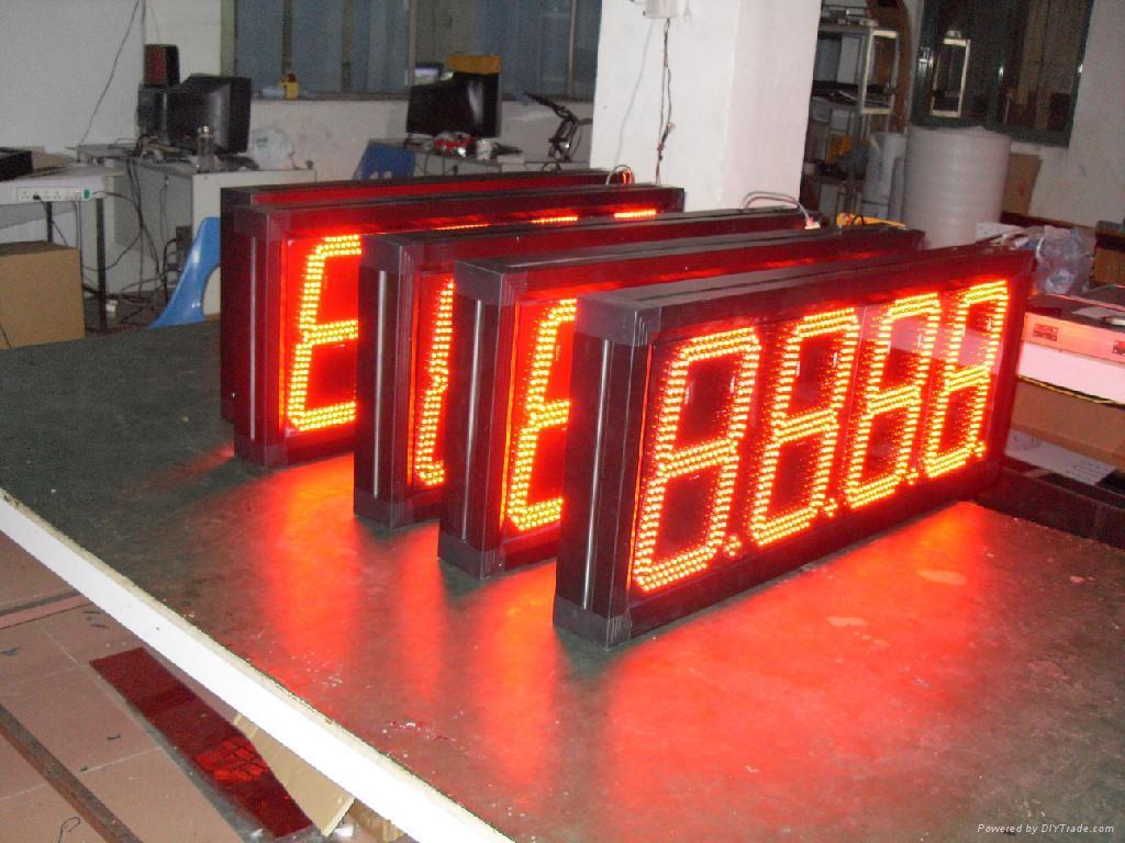 LED時鐘溫度屏 3