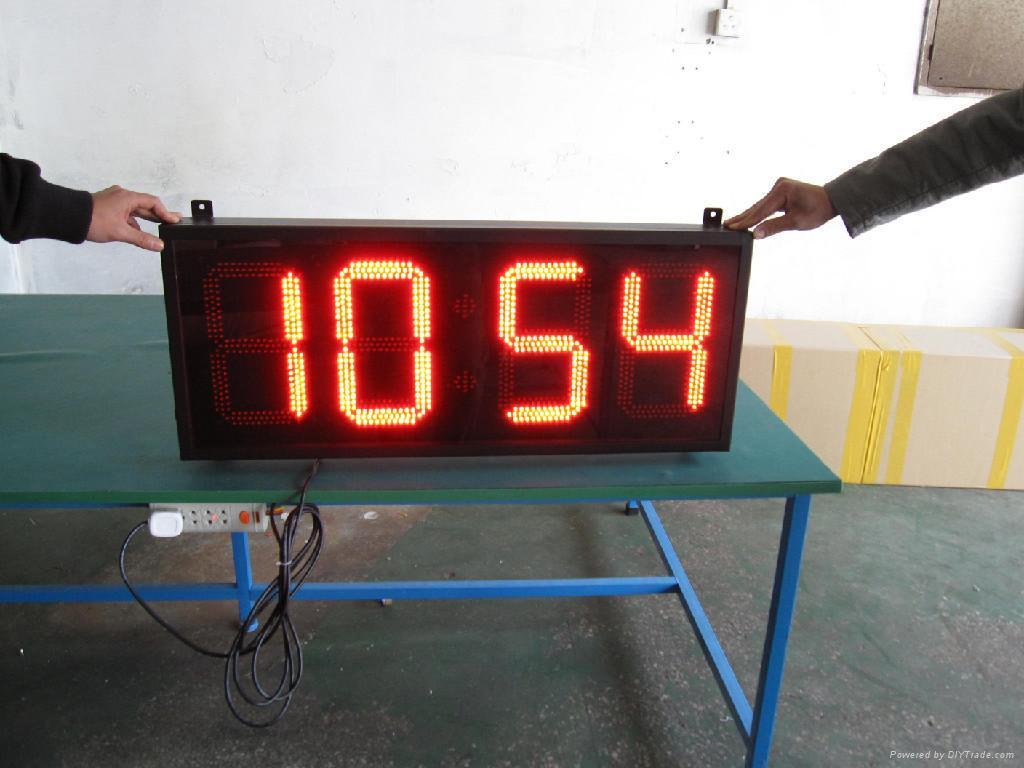 LED時鐘溫度屏 4