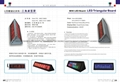 RF LED moving message board/LED desktop