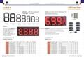 clock and temperature LED-Display