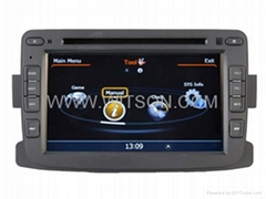 WITSON Car DVD Player with GPS for RENAULT DUSTER