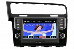WITSON Car DVD Player With GPS For VOLKSWAGEN GOLF 7 2013