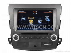 WITSON Car DVD Player With GPS For MITSUBISHI OUTLANDER