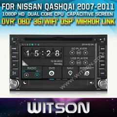 WITSON Car DVD Player With GPS For NISSAN QASHQAI
