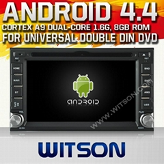 WITSON Android 4.4 Universal Double Din DVD