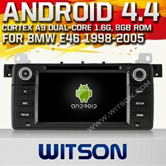 WITSON Android 4.4 Car DVD Player With GPS for BMW E46