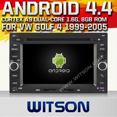 WITSON Android 4.4 Car DVD Player With GPS for VW PASSAT B5/GOLF 4