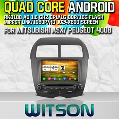 WITSON Android 4.4 Car DVD Player With GPS For MITSUBISHI ASX (W2-M026)