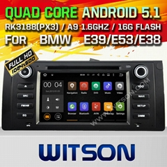 WITSON Android 5.1 Car DVD Player With GPS for BMW E39/M5/X5/E53