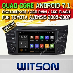 WITSON Android 7.1 Car DVD Player With GPS for MERCEDES-BENZ E CLASS W211(H5799)