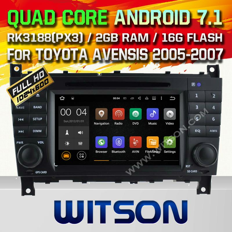 WITSON Android 7.1 Car DVD Player With GPS for MERCEDES-BENZ C CLASS W203(H5517) 1