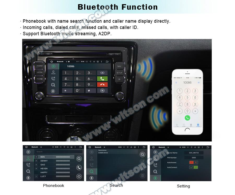 WITSON Android 7.1 Car DVD Player With GPS for MERCEDES-BENZ C CLASS W203(H5517) 14