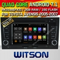 WITSON Android 7.1 Car DVD Player With GPS for AUDI A4 (W2-H5764)