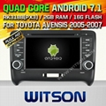WITSON Android 7.1 Car DVD Player With GPS for AUDI TT 2006-2014 (W2-H5525)