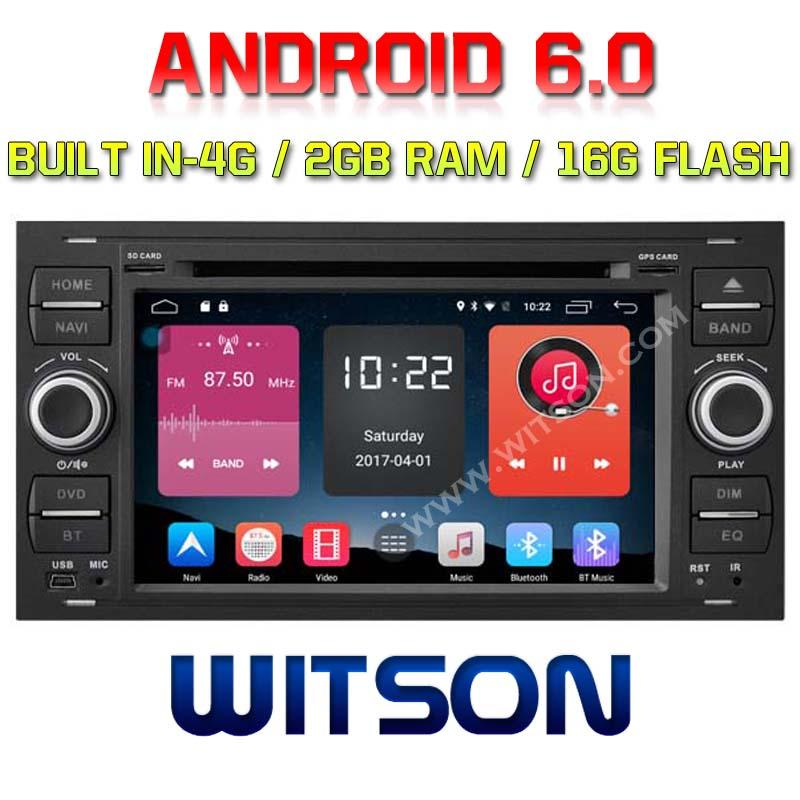 Android 6.0 Car DVD Player With GPS for FORD FOCUS (K7488B)