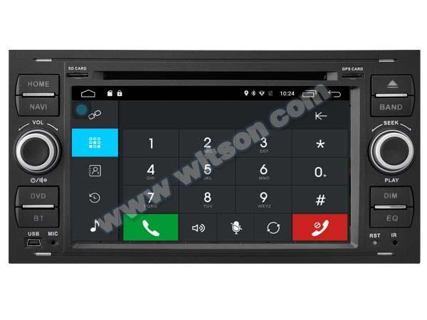 Android 6.0 Car DVD Player With GPS for FORD FOCUS (K7488B) 2