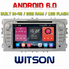 Android 6.0 Car DVD Player With GPS for FORD MONDEO/FOCUS(>2008)/S-MAX (K7457S)