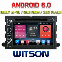 Android 6.0 Car DVD Player With GPS for FORD F150 (K7496)