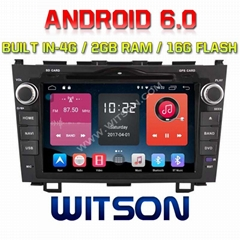 Android 6.0 Car DVD Player With GPS for HONDA CRV 2006-2011 (W2-K7318)