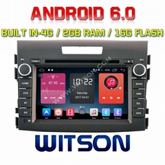 Android 6.0 Car DVD Player With GPS for  NEW HONDA CRV (W2-K7306)
